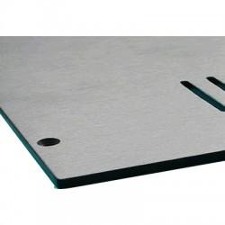 HIFI 2000 Capot Aluminium pour Boîtier GALAXY GX347-387 (Silver)