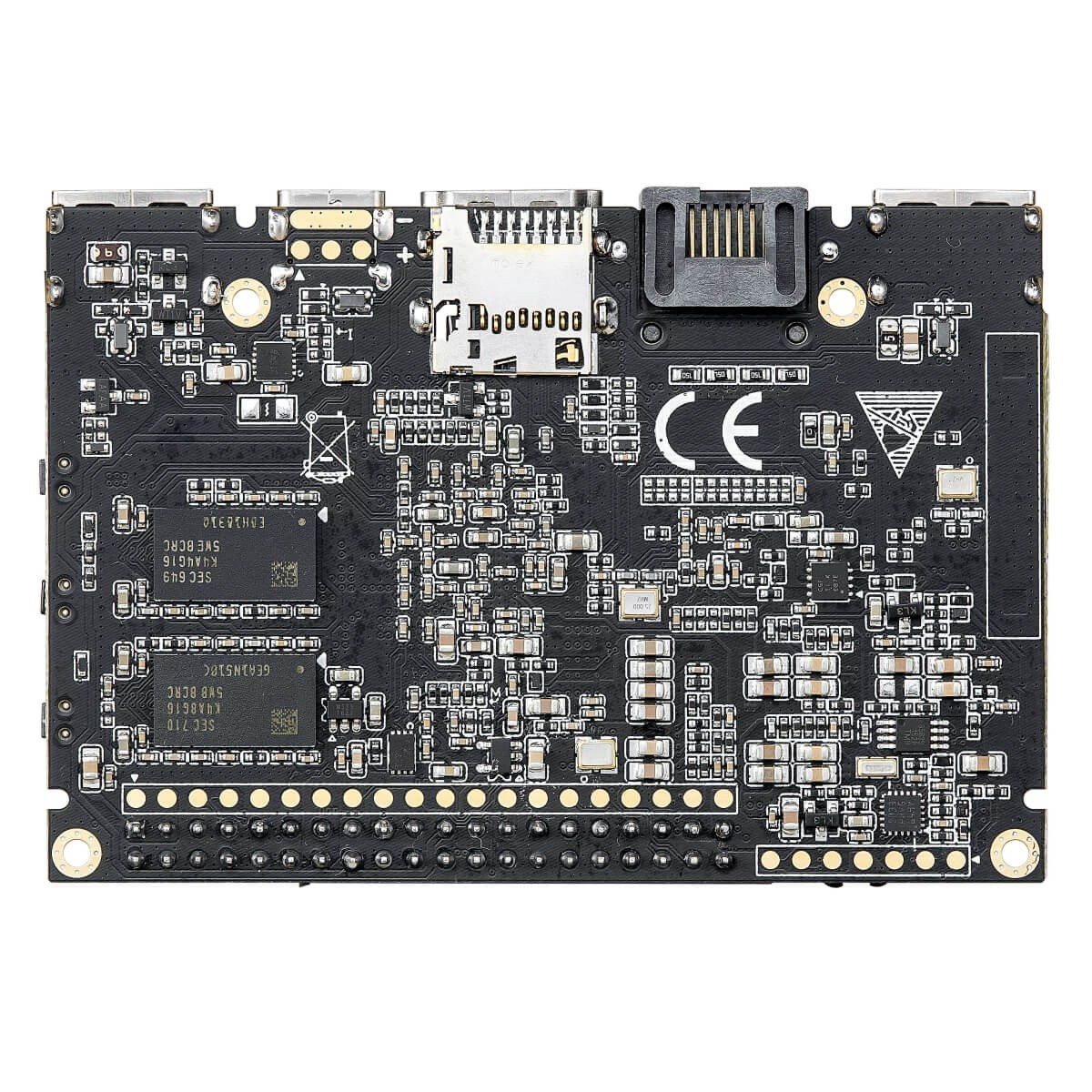 KHADAS VIM2 PRO 1.4 SBC Amlogic 1.5 GHz 64Bit Octa Core 3GB DDR4 2xUSB