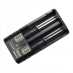 Chargeur Accumulateurs 2 Emplacements 4.2/1.48V 1A/2A