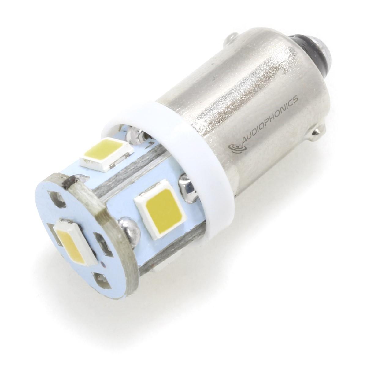 LED Fuse Lamp Warm White for Vu-Meter / Tuner 6.3V