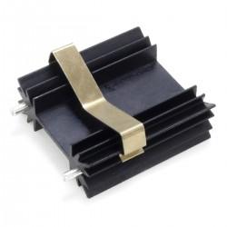 Radiateur dissipateur thermique anodisé Noir 38,1x35x12,7mm