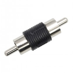 Male RCA / Male RCA Adapter