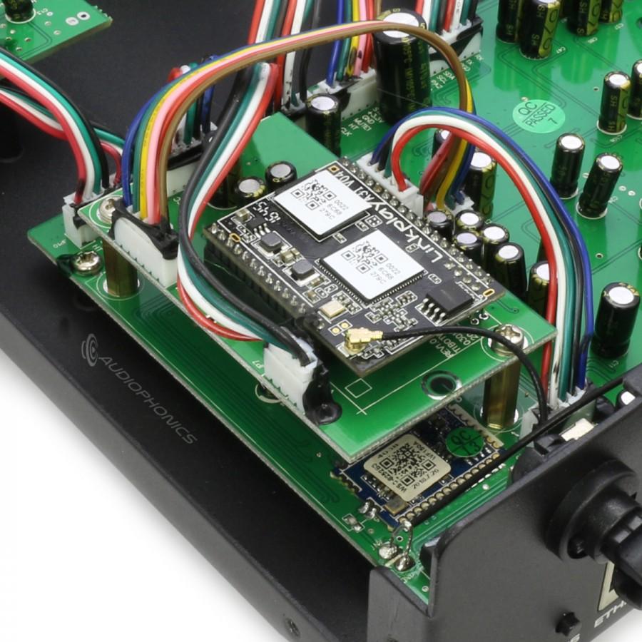 DAYTON AUDIO WF150A WiFi Bluetooth Multiroom Amplifier 2x75W