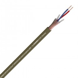 SOMMERCABLE CAPTAIN FLEXIBLE Balanced Interconnect Cable Shielded OFC Copper 2x0.22mm² Ø6.5mm