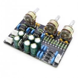 Module Préamplificateur / Atténuateur avec contrôle de tonalité DIP8