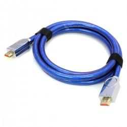 Câble HDMI 2.1 Ultra HD 4320p 48Gbps 8K Cuivre OCC Plaqué Argent 3m