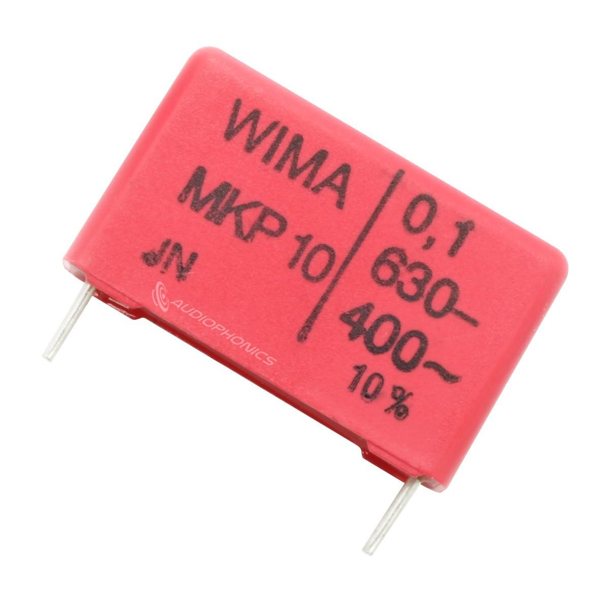 WIMA MKP 10 Polypropylene Capacitor 27,5mm 250V 1µF