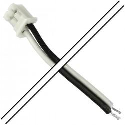 Câble PH 2.0mm Femelle 2 Pôles 1 Connecteur vers Fils Nus 15cm (Unité)