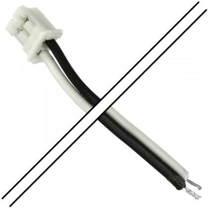 Câble PH 2.0mm Femelle 2 Pôles avec Connecteurs vers Fils Nus (Unité)