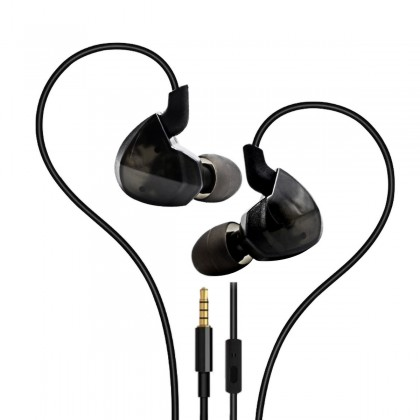 HIDIZS EP-3 Ecouteurs Intra-Auriculaires IEM avec Microphone
