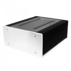Boitier Aluminium avec Dissipateur thermique 311x260x120mm Façade Argent