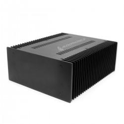 Aluminium Case with Heatsink 311x 260 x 120mm Silver Front Panel