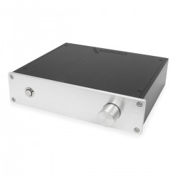 Aluminium Case 220x191x52mm Silver Front Panel