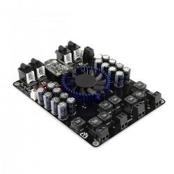 TINYSINE TSA8498B Module Amplificateur Class D 4x100W 6 Ohm 2xTDA7498 Bluetooth aptX RCA