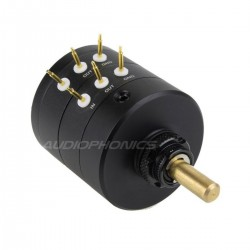 EIZZ Stereo Audio Attenuator 24 Positions 25K