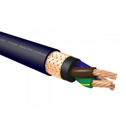 FURUTECH FP-S55N LIMITED EDITION Câble Secteur Cuivre OFC Nano Liquide Argent Or Traitement Alpha 5.26mm² Ø18mm