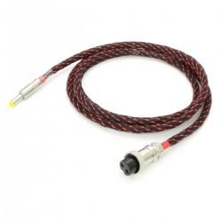 Câble d'alimentation Jack DC 5.5 / 2.5mm vers GX16 Cuivre OFC 4N 1.5m