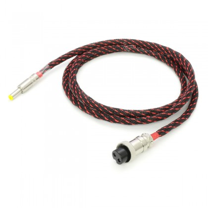 Câble d'alimentation pour NAS Synology Jack DC 5.5/2.5mm vers GX16 Cuivre OFC 4N 1.5m