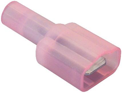 Cosse mâle isolée Nylon 0.5 - 1.2mm² (set x10)