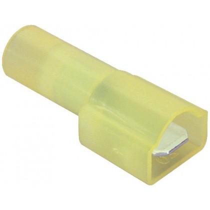 Cosses male isolées Nylon (set x10) 3 - 5mm²