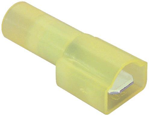 Cosse mâle isolée Nylon 3 - 5mm² (set x10)