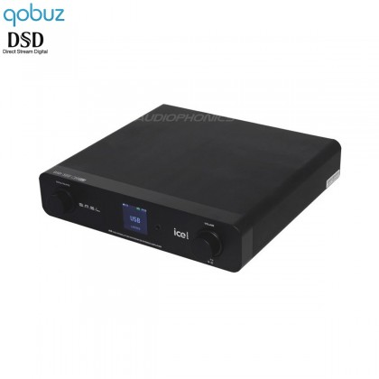 SMSL A6 Amplificateur Intégré ICEPower 32bit 384khz / DSD 2x50W 4 Ohm