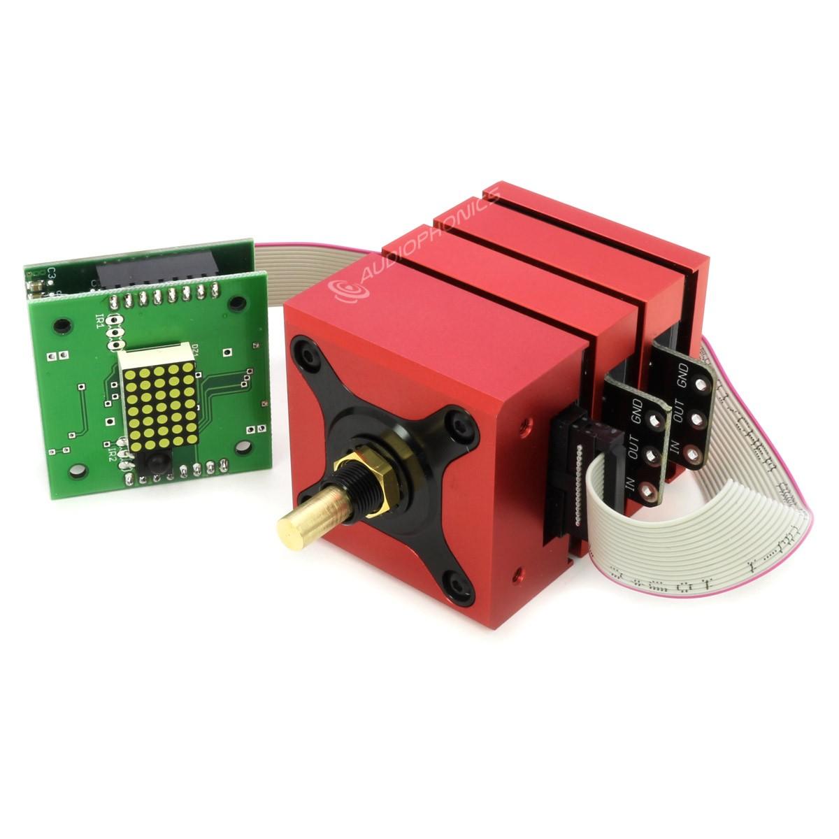 KHOZMO ACOUSTIC Relay Volume Attenuator 10k 64 Steps MBB Switching Vishay Stereo