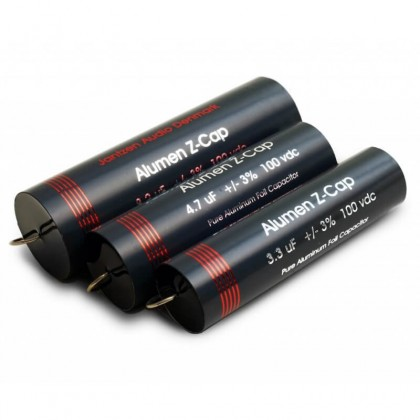JANTZEN AUDIO ALUMEN Z-cap Condensateur 100VDC 10 µF