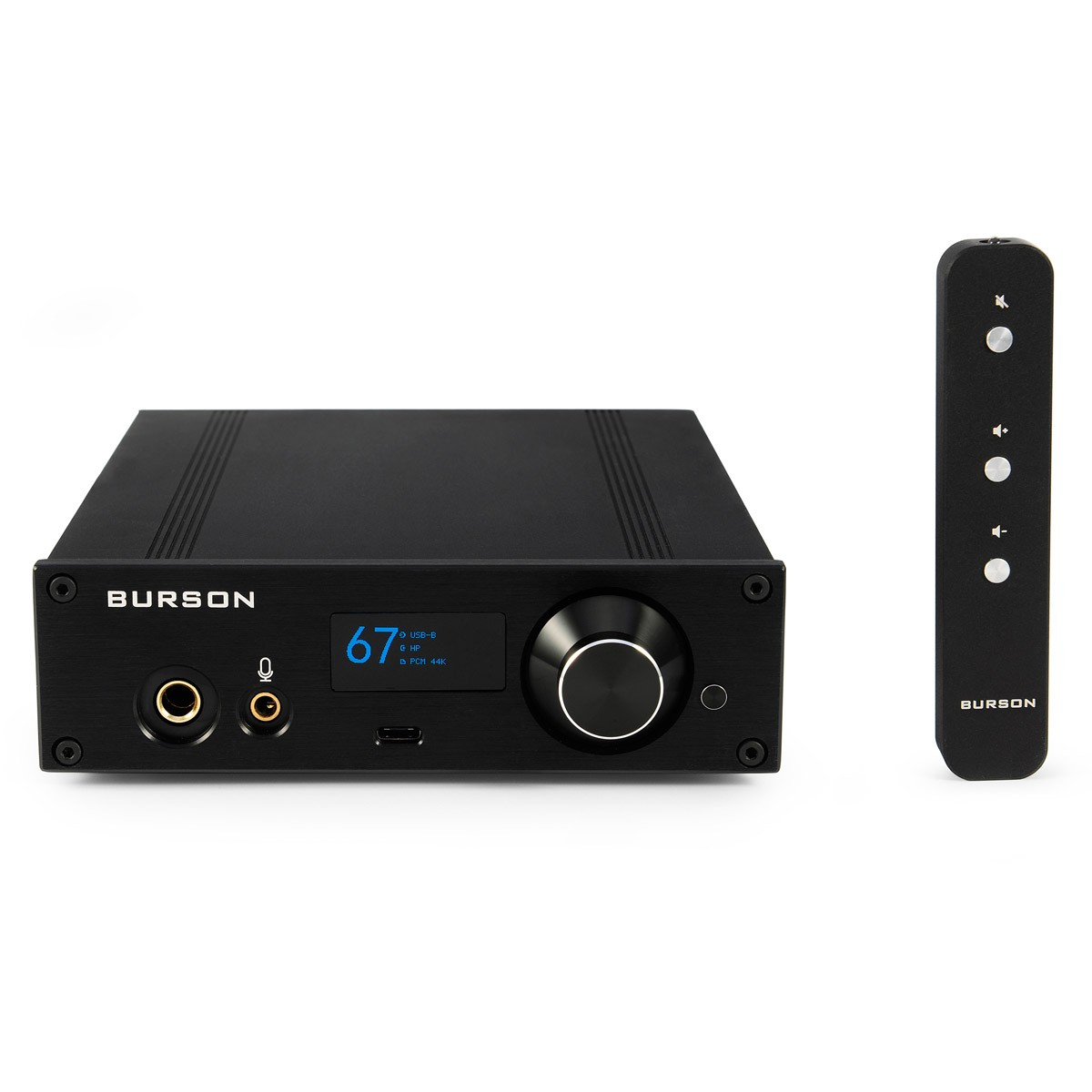 BURSON AUDIO PLAYMATE Class A PC Headphone Amplifier / DAC ES9038 XMOS / Preamplifier 32bit 384kHz DSD512