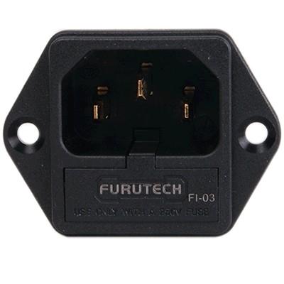 FURUTECH FI-03 (G) Embase IEC plaqué Or fusible 5x20mm