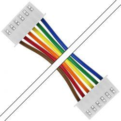 Câble PH 2.0mm 6 Pôles Femelle 1m (Unité)