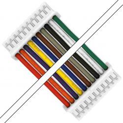 Câble PH 2.0mm 10 Pôles Femelle 50cm (Unité)