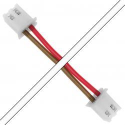 Câble PH 2.0mm 2 Pôles Femelle 1m Noir / Blanc (Unité)