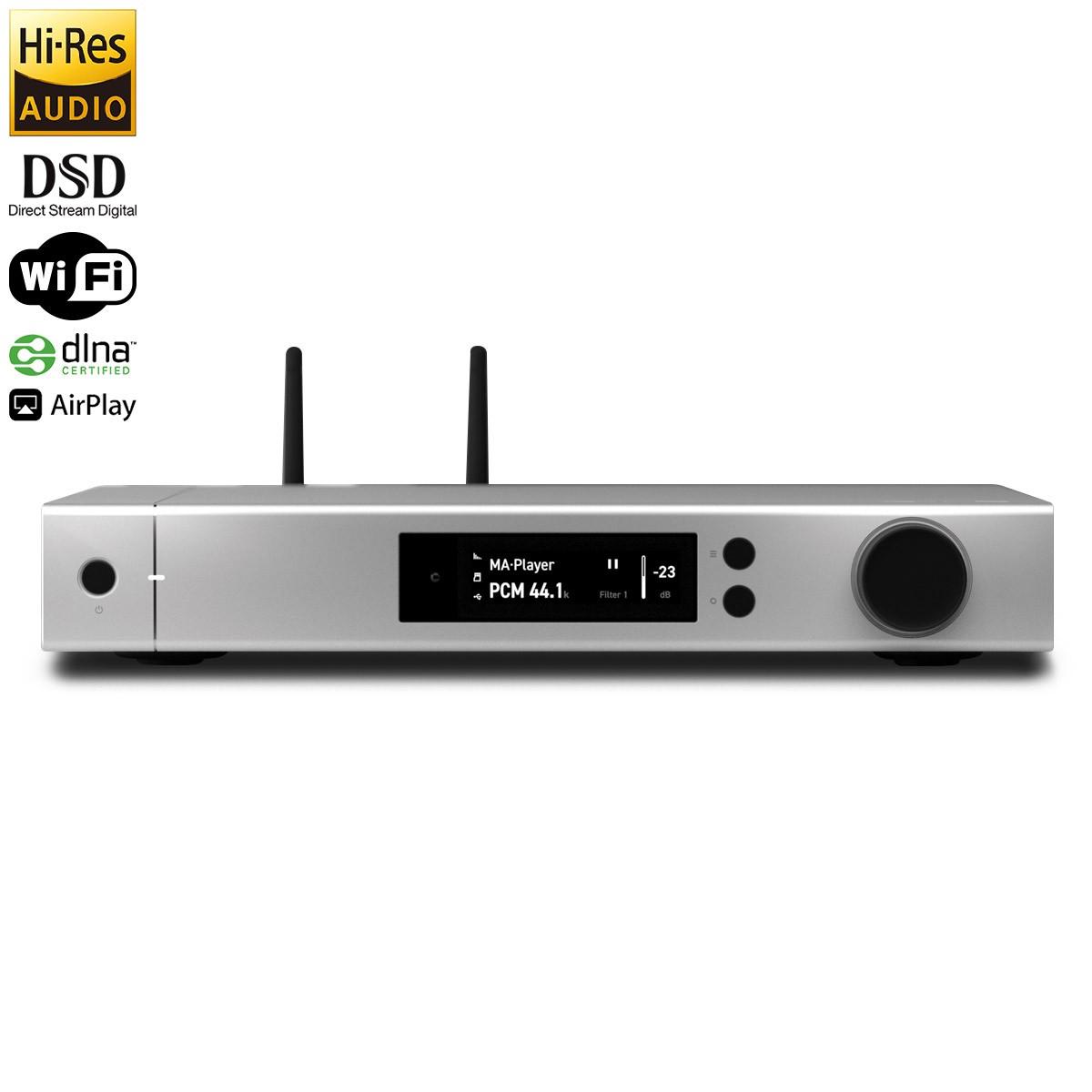MATRIX ELEMENT P Streamer / ICEpower Amplifier / DAC ES9028PRO XMOS 32bit 768kHz DSD1024 2x230W 4 Ohm