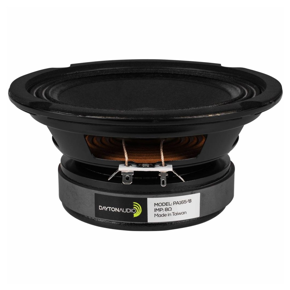 DAYTON AUDIO PA165-8 Speaker Driver Woofer / Midbass 75W 8 Ohm 92.9dB 80Hz - 5kHz Ø15.2cm