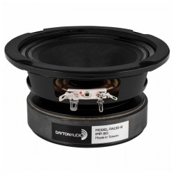 DAYTON AUDIO PA130-8 Speaker Driver Full Range 50W 8 Ohm 88.2dB 90Hz - 15kHz Ø12.7cm