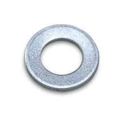 Rondelle Plate Acier Galvanisé M5x0.5mm (x10)