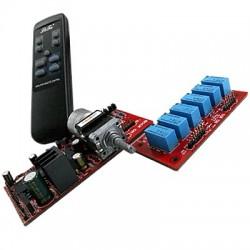 LITE MV06 Contrôleur de Volume passif Motorisé 2 canaux + 5.1