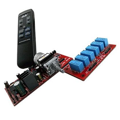 LITE MV06 - Contrôleur de Volume passif Motorisé 2 canaux + 5.1