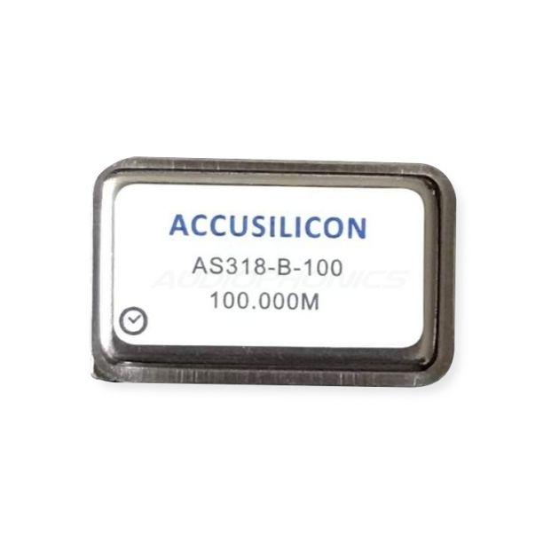 Accusilicon precision crystal oscillator clock