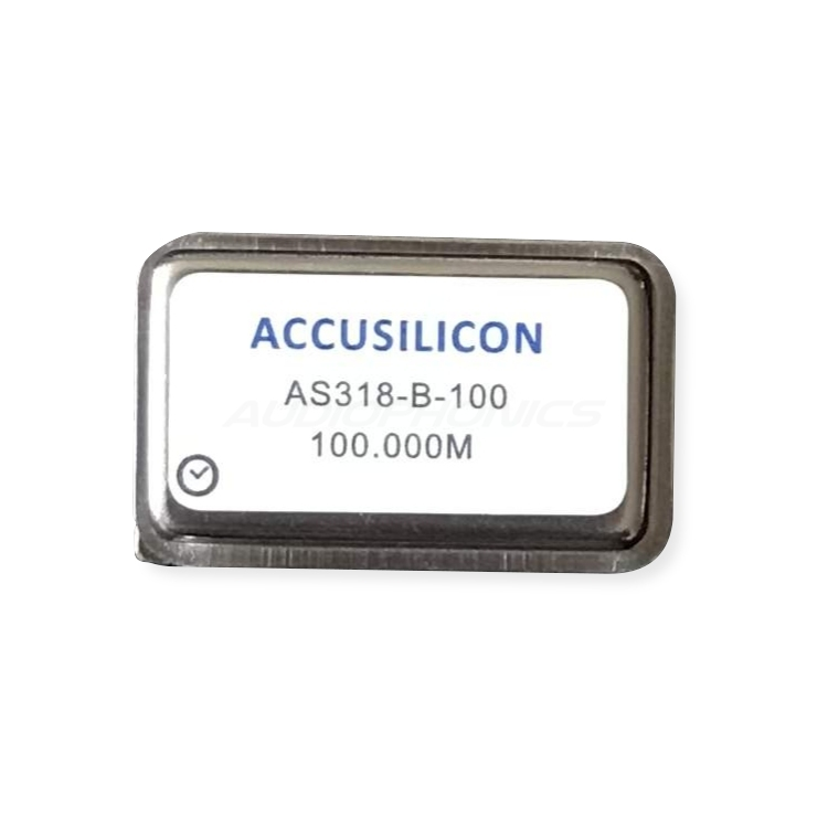 ACCUSILICON AS318-B-100 Horloge Ultra Low Jitter 100MHz