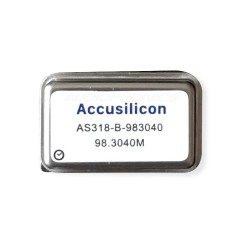ACCUSILICON AS318-B-983040 Ultra Low Jitter Clock 98.3040M