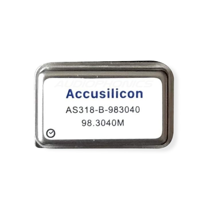 ACCUSILICON AS318-B-983040 Horloge Ultra Low Jitter 98.3040MHz