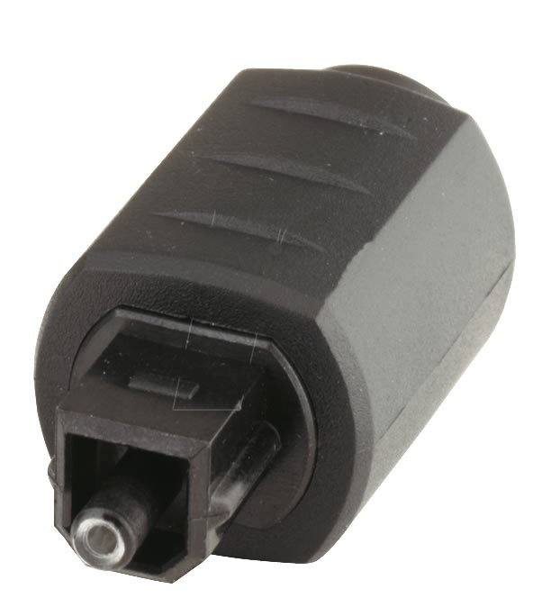 Toslink Mini female adapter to Toslink Male