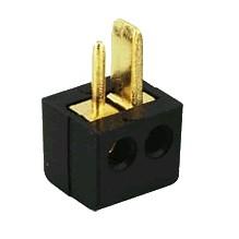 DIN male plug for Speakers Black (Unit)