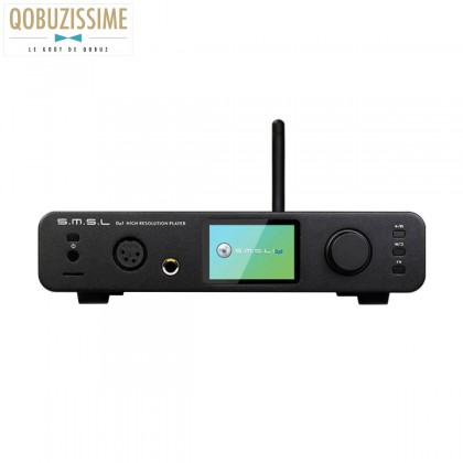 SMSL DP3 Lecteur Réseau DLNA Airplay Bluetooth aptX DAC 2x ES9018Q2C 32bit 384kHz DSD256