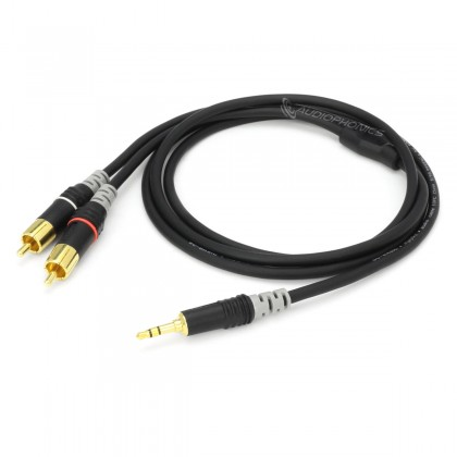 SOMMERCABLE HBA-3SC2 Stereo Male RCA to Stereo Male Jack 3.5mm 1.5m