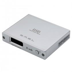 SMSL X-USB II Interface Numérique USB XMOS U208 vers I2S LVDS HDMI / Optique / Coaxial 32bit 768kHz DSD512 Argent