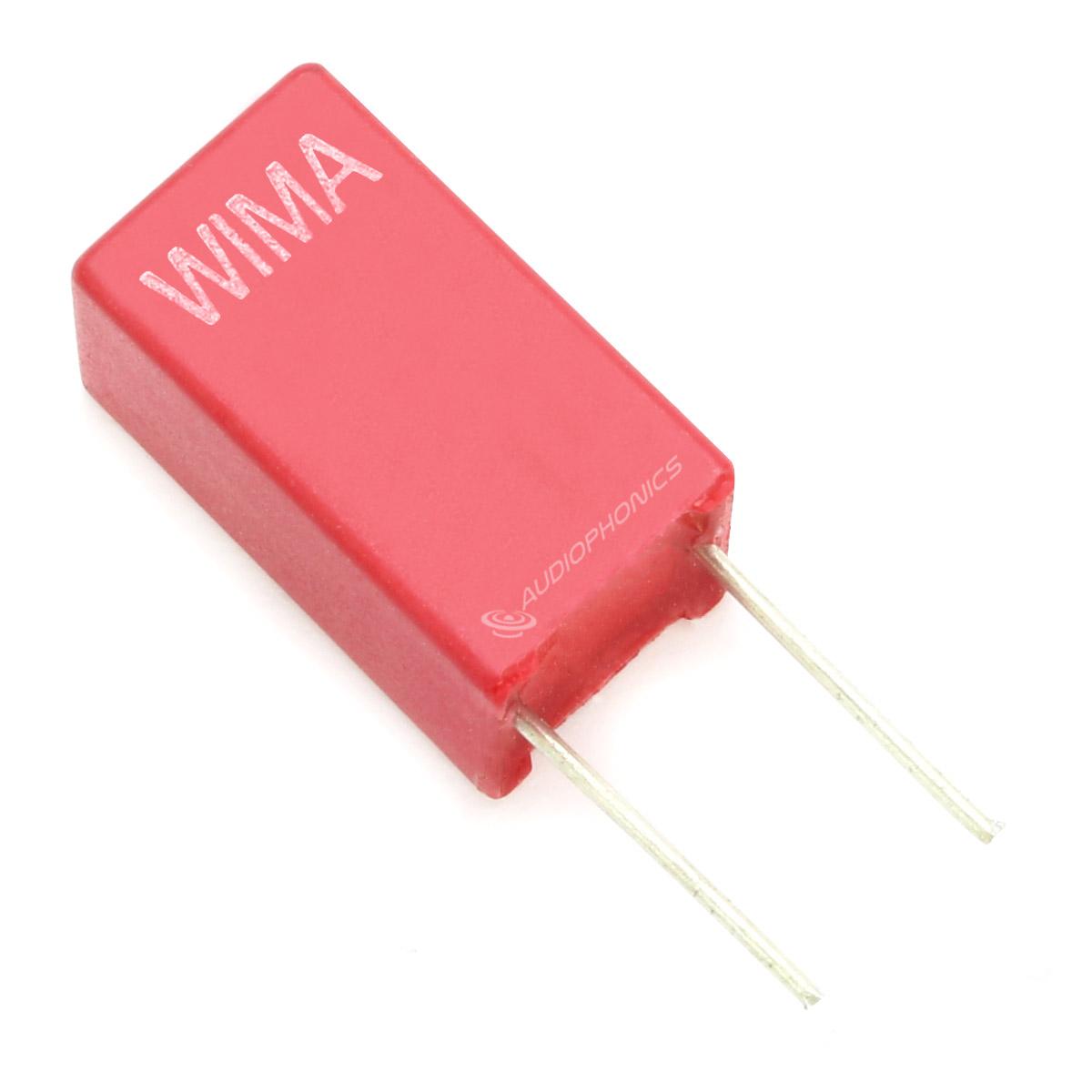 WIMA MKS2 Condensateur Polyester 5mm 63V 2.2µF