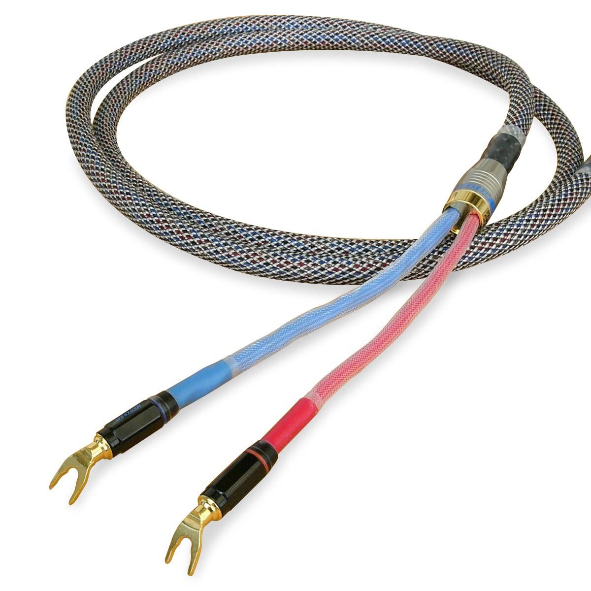 NEOTECH NES-3001 Câble Haut-Parleur Cuivre UP-OCC Plaqué Or 17AWG Ø15mm 2m (La paire)